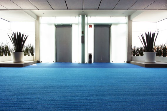 Desso AirMaster carpet at Sedna Hospital