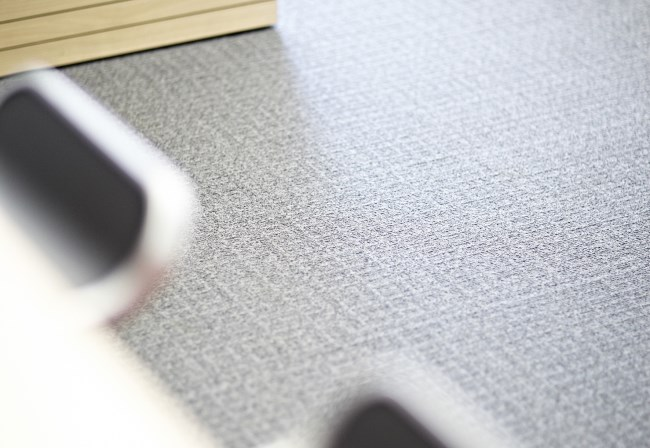 Desso Scape carpet at Sirius
